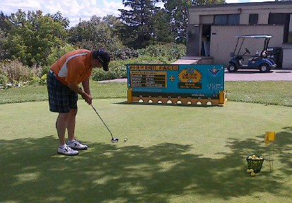 Golf Game Rangers Camp McGovern Tournament 07-2013